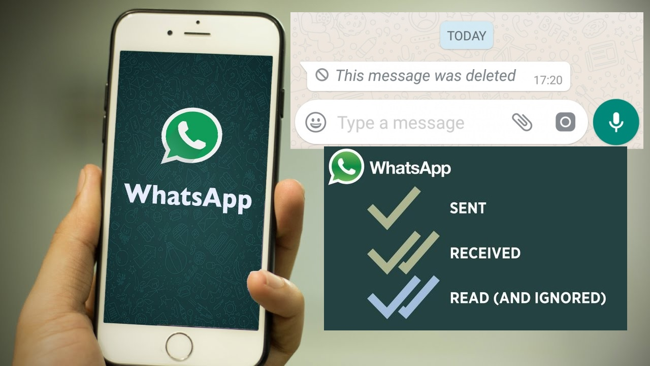 Whatsapp - Read Deleted Messages, Hide Blue Ticks, Second Tick(GBWhatsapp)
