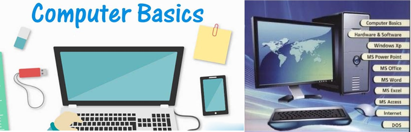 Basics of Computer Ebooks and PDF in Hindi and English
